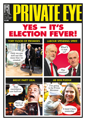 Private Eye Issue 1509 (15-11-2019)
