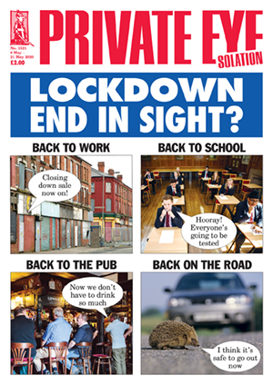 Private Eye Issue 1521 (08-05-2020)