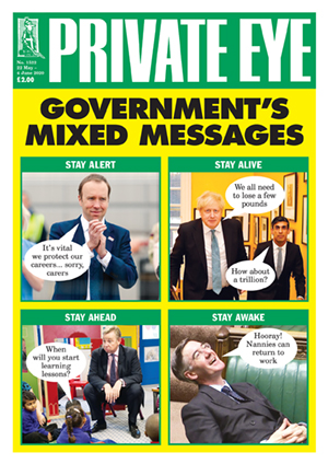 Private Eye Issue 1522 (22-05-2020)