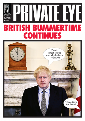 Private Eye Issue 1533 (23-10-2020)